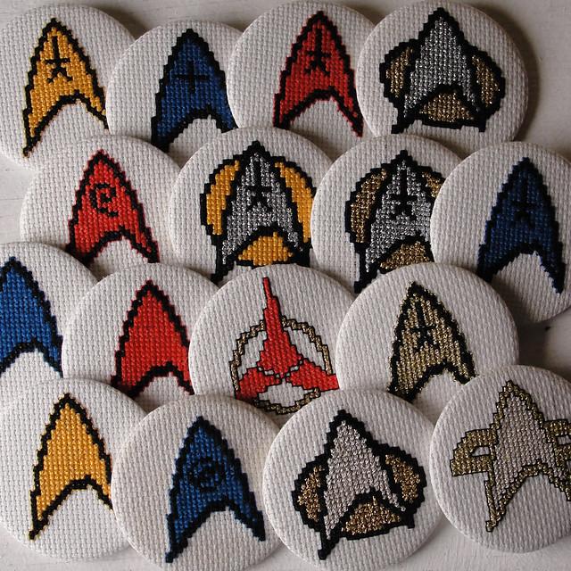 all star trek badges