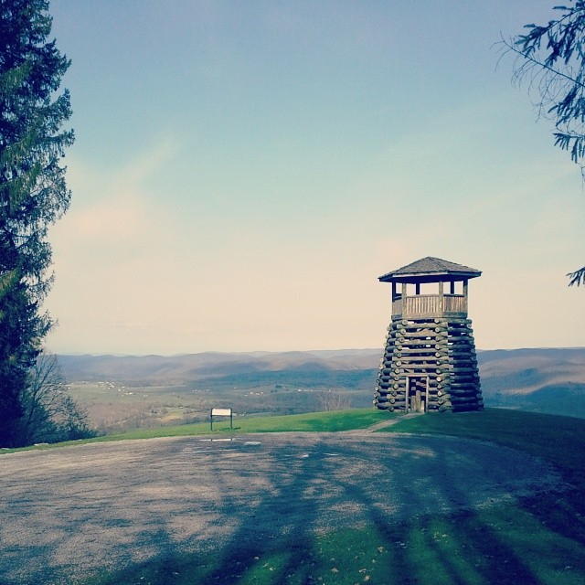 Droop Mountain Lookout Tower