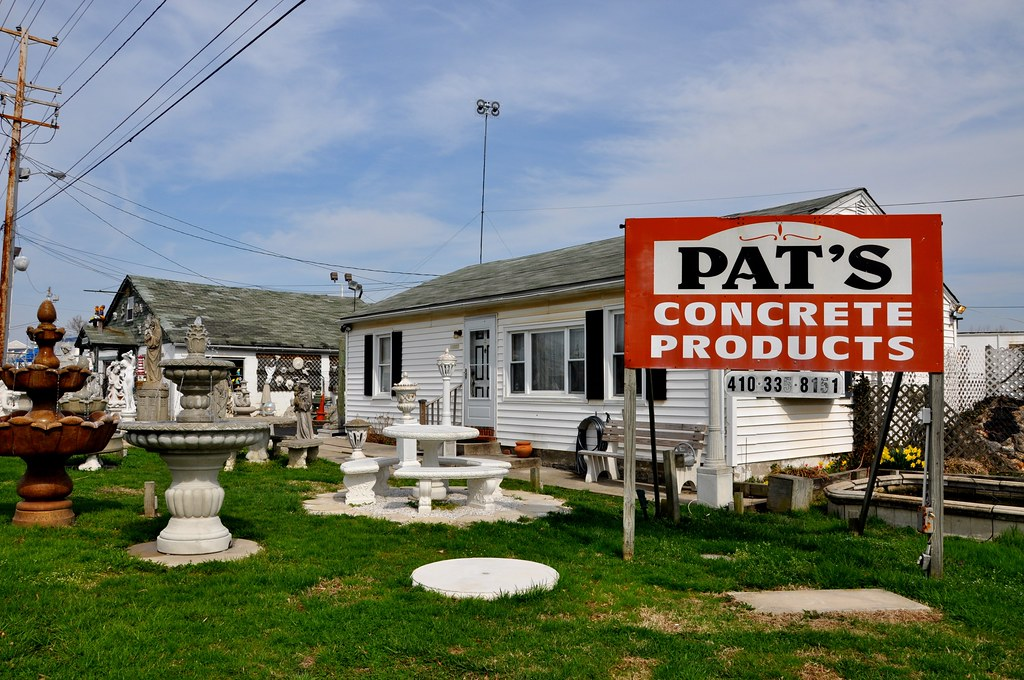 Pat's Concrete Products - White Marsh, MD - STILL OPEN! 2016!