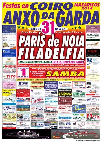 Mazaricos 2014 - Festas da Ascensión en Coiro - cartel