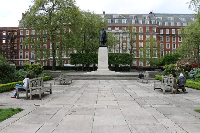 Roosevelt Statue, Grosvenor Square, London