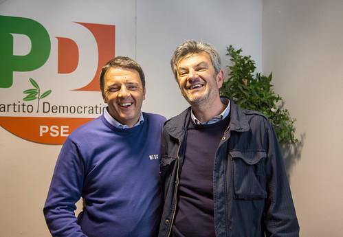 Con Matteo Renzi