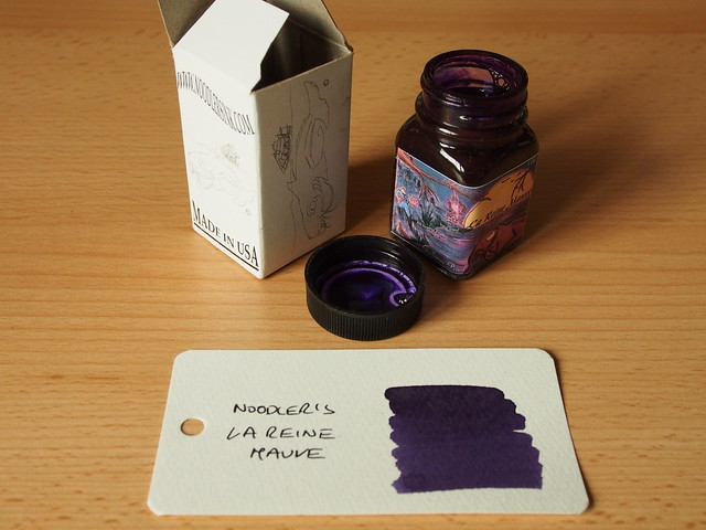 Noodler's La Reine Mauve - Ink Review