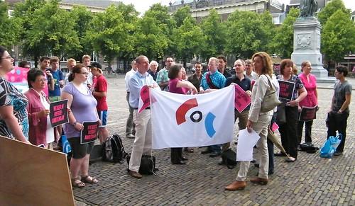 2011: COC-protest