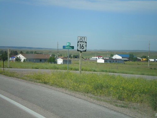 WY-116 South Approaching US-16