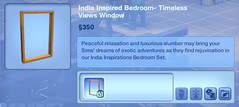 India Inspired Bedroom- Timeless Views Window