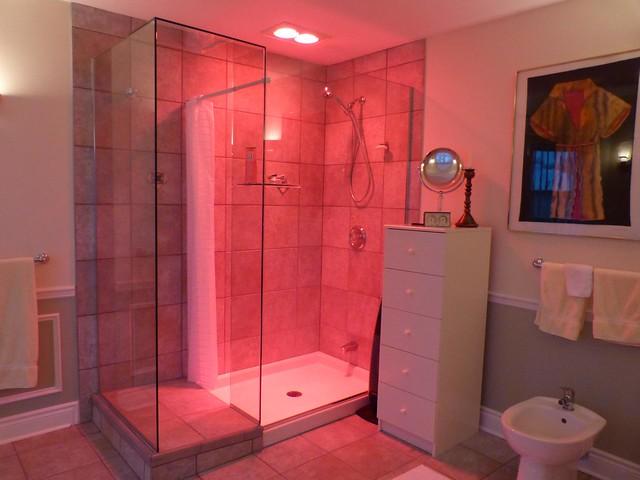 shower infrared heat lamps fan and bidet flickr photo sharing. Black Bedroom Furniture Sets. Home Design Ideas
