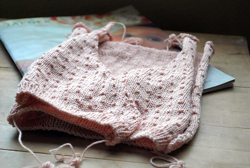 Baby cardigan WIP