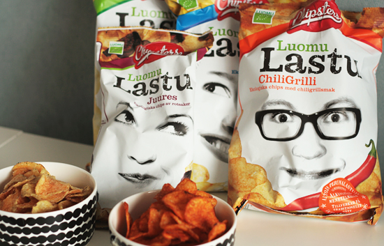 CHIPSTERS luomusipsi-perhe