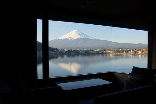 view form the room in the morning @ Kozanteiubuya  湖山亭うぶや