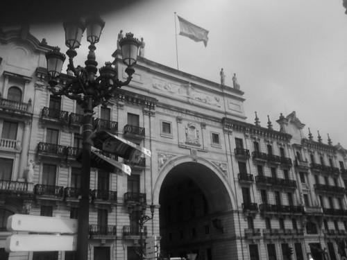 Banco Santander Building by simonharrisbcn