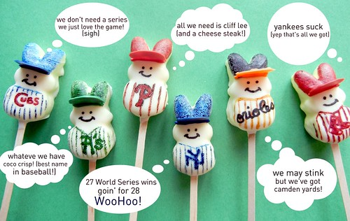 baseball peep pops