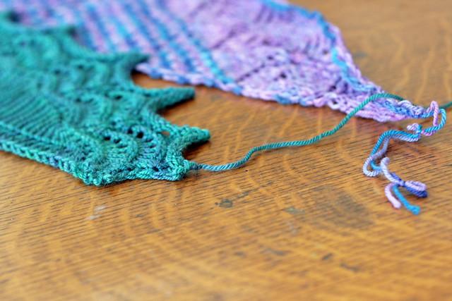 mini shawls!