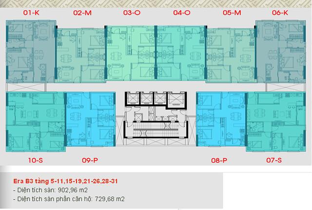 Căn hộ Quận 7, giá 1, 1tỷ/ căn 66m2