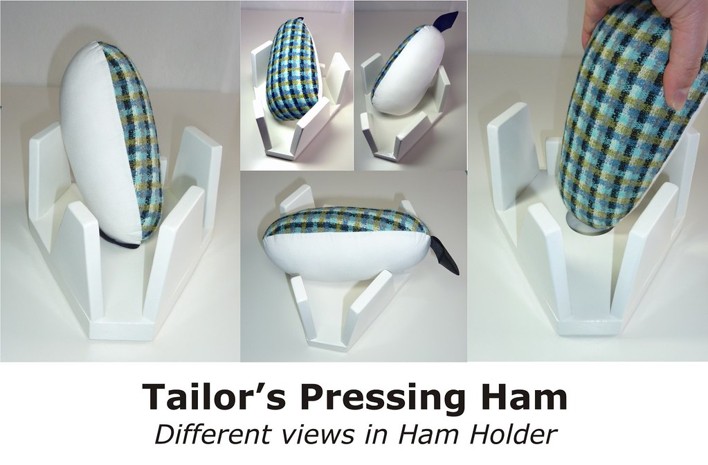 02 – Tailor's Pressing Ham in Ham Holder