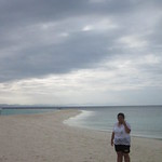 Kalanggaman Island, Palompon, LEYTE: Me. Photo taken by my sister.