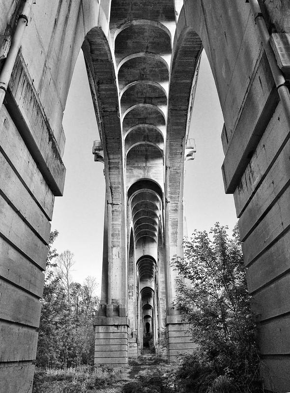 Under the 8th Street bridge, Allentown PA