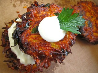 Farmhouse Carrot Fritters