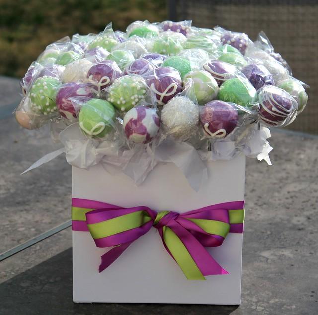 Bridal Shower Cake Pops Flickr - Photo Sharing!