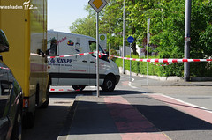Unfall mit Fahrradfahrer 14.05.12