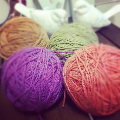 Yarn heathers