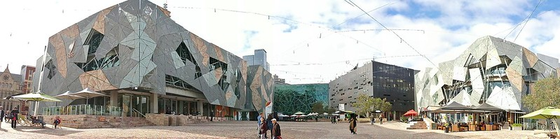Panorama Federation Square Melbourne