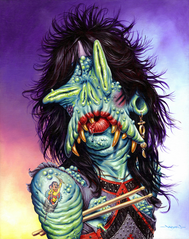 Jason Edmiston - (Monsters Of Rock) Tommy