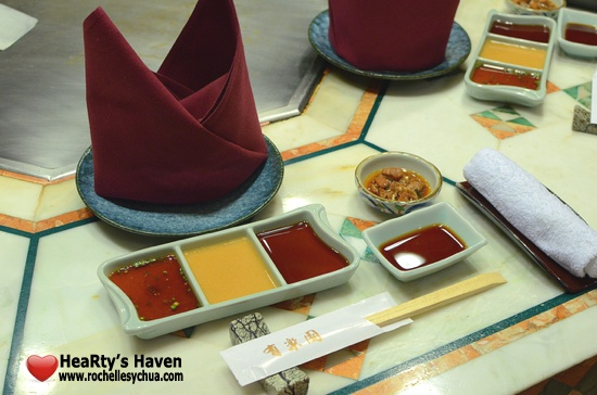Yurakuen Table Setup