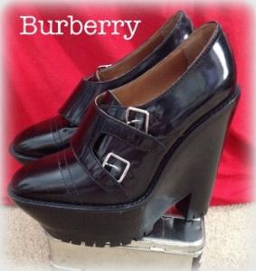 Burberry Prorsum wedge booties