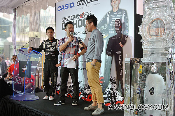 The guy in yellow pants is one of the founder of Flesh Imp who designed the limited edition Casio G-Shock