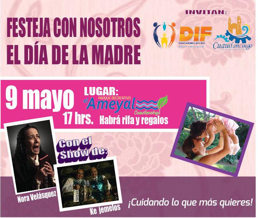 Festejo de 10 de mayo DIF municipal Cuautlancingo