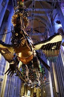 Image of Cathedral of Saint John the Divine. newyork phoenix installation chineseart xubing saintjohnthedivine