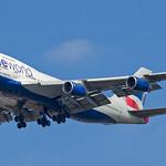 G-CIVI - British Airways - Boeing 747-400