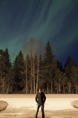 Aurora Borealis. Girdwood, AK