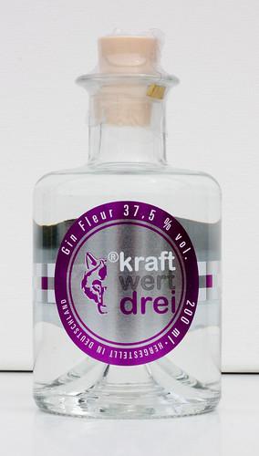Kraftwert3 Gin Fleur Feinschmecker 37,5%