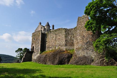 Dunstaffnage castle, Oban, Argyll and Bute, Ecosse, Grande-Bretagne, Royaume-Uni.