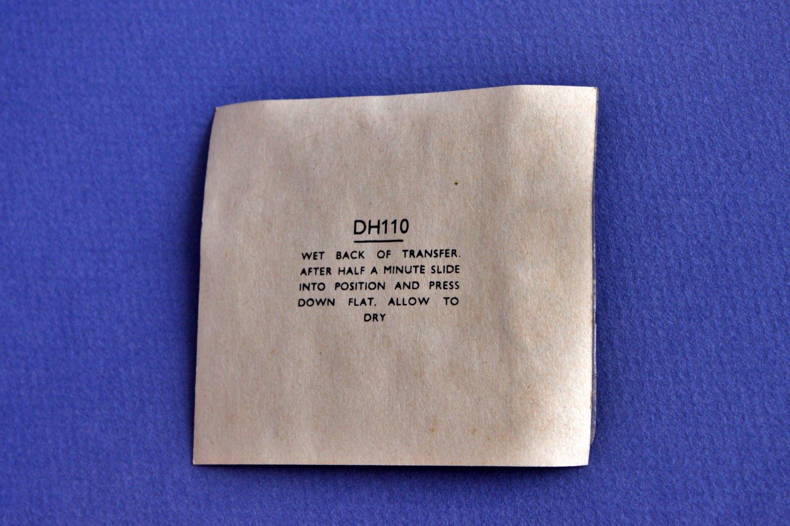 Decals FROG 1964