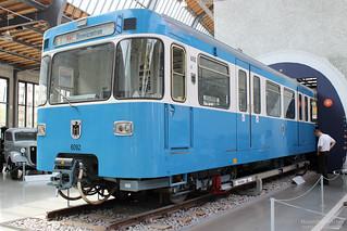 Münchner U-Bahn, MVG-Baureihe A | [DE] Deutsches Verkehrsmuseum München | 26.04.2014