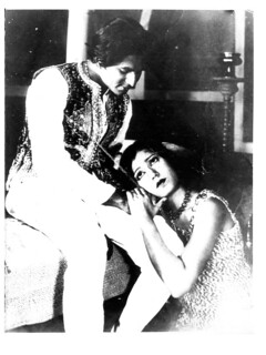 "Master Vithal and Zubeida in 'Alam Ara' (""Jewel of the World"") 1931"
