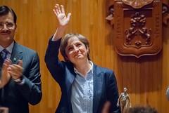 Carmen Aristegui recibe el galardón 'Corazón de León' ㉑