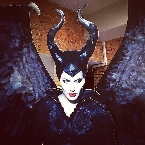 Look, who I ran into in the movies #maleficent #disney