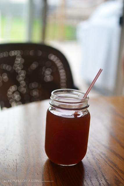 Post-run iced tea
