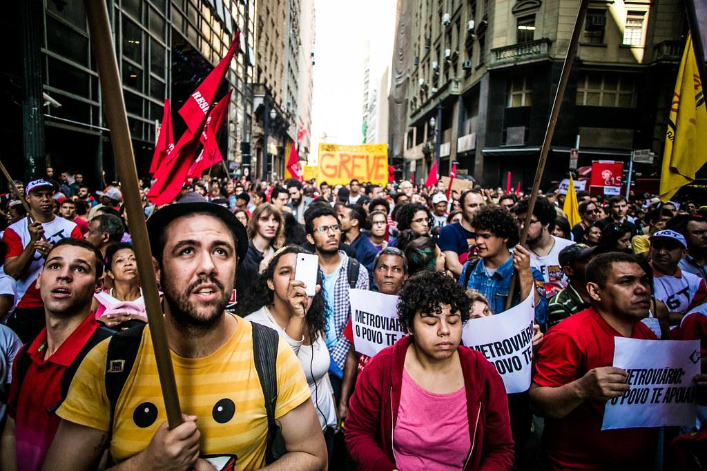 Greve dos Metroviários • 2014 • São Paulo
