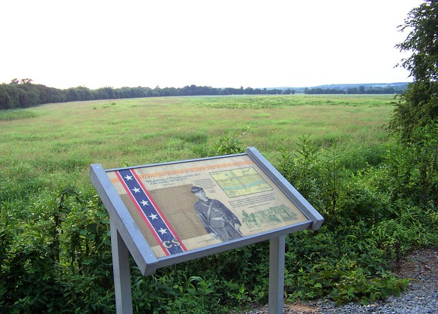 The site of the Battle of Staunton River Bridge