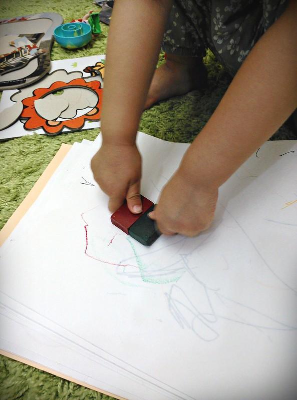 19幼兒蠟筆MUJI色筆