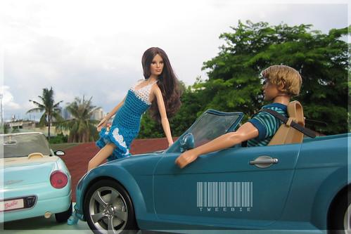 Barbie (Louboutin) & Ken (Tango/Blaine) Basics # 14 & 16 Dolls