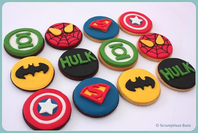 Marvel Super Hero Cookies