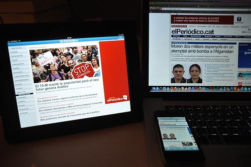 El Periódico a l'iPad