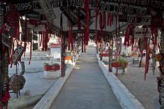 Corridoio che porta al santuario de la Difunta Correa