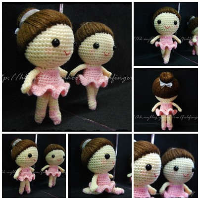 ????_Amigurumi Ballerina_10 This Ballerina doll is made ...